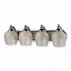 4 Light Chrome Bathroom Vanity Light Elk Lighting 4 Light Vanity Fixture In Polished Chrome