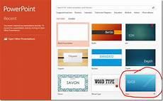 Powerpoint Apply Template Quickstart Microsoft Powerpoint 2013 Tutorials
