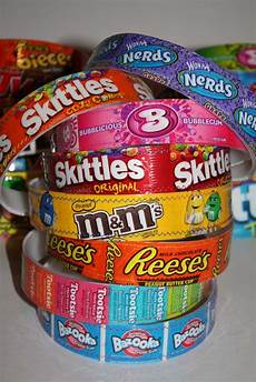 How To Make Candy Wrappers Presents From Alex New Styles Candy Wrapper Headbands