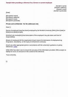 Reference Letter Sample For Job Free 9 Employee Reference Letter Samples In Pdf Examples
