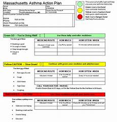 Asthma Action Plan Chart Asthma Action Plan Archives Atrius Healthatrius Health