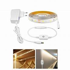 Touch Control Led Lights Touch Dimmer Control Waterproof 12v Led Wall Light Tape