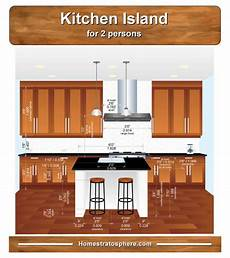 size of kitchen island with seating standard kitchen island dimensions with seating 4 diagrams