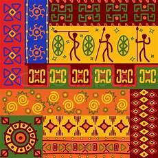 Afrikanische Muster Malvorlagen Xing Abstrakte Afrikanische Ethnische Vektorgrafik