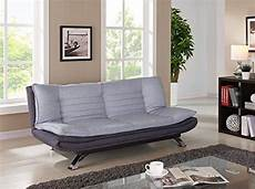 unmatchable duo contrast 3 seater sofabed in duck grey