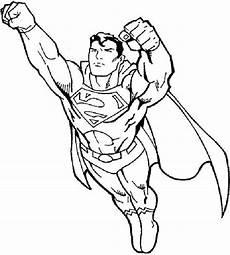 superman ausmalbilder zum ausdrucken coloriage