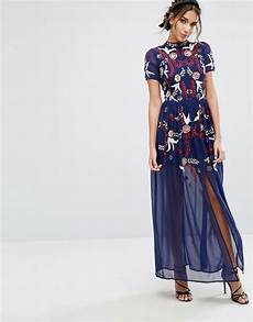 Frock And Frill Size Chart Frock Amp Frill Sequin Maxi Dress Asos