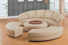 Half Moon Sofa 3d Image by Beige Leather Half Moon Shape Five Sectional Sofa