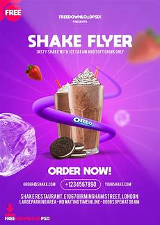 Design Flyers Online For Free Free Shakes Flyer Templates Psd Freedownloadpsd Com