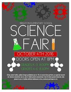Science Fair Banner Template Event Flyer Templates Postermywall