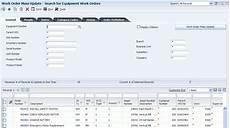 Work Order No Using The Work Order Mass Update Process