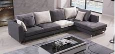 Two Tone Sofa 3d Image by 3pcs Left Chaise Gray White 3d Linen Fabric Sectional