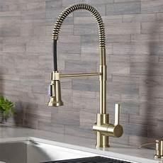 Kraus Kitchen Faucet Kraus Britt Single Handle Pull Sprayer Kitchen Faucet