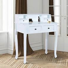 homcom dressing table chic vanity make up desk with 4