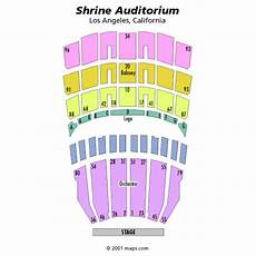 Shrine On Airline Seating Chart Shrine Auditorium Los Angeles Tickets Schedule