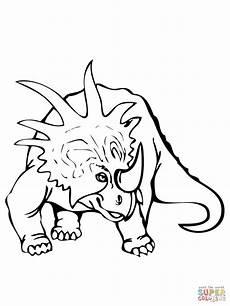 Dinosaurier Ausmalbilder Triceratops Ausmalbild Styracosaurus Dinosaurier Ausmalbilder