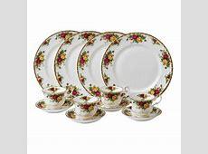 Royal Albert Old Country Roses 12 Piece Dinnerware Set