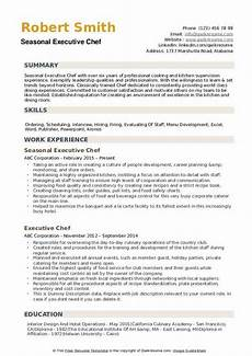 Executive Chef Job Description Sample Executive Chef Resume Samples Qwikresume