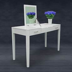 modern white dressing vanity table make up writing desk w
