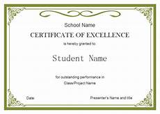 Student Certificates Free Student Certificate Free Student Certificate Templates
