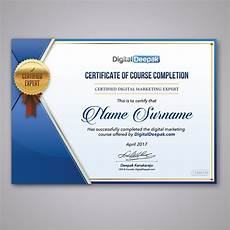 Design A Certificate Online Free Create A Certificate Design For An Online Course Other