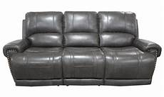 90 Inch Sofa Cover Png Image by 90 Inch Top Grain Leather Power Sofa With Power Headrest