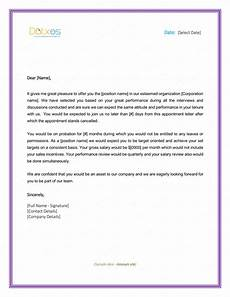 Appointment Letter For Job Format 5 Appointment Letter Formats Amp Samples For Word