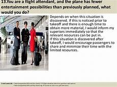 Flight Attendant Tips For Interviews Top 10 Flight Attendant Interview Questions Answers Pdf