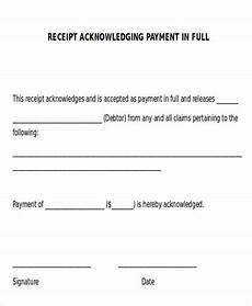 Letter For Final Payment Free 11 Receipt Of Payment Letter Templates In Pdf Ms