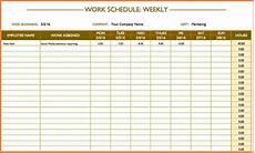Schedule Excel Spreadsheet 6 Employee Schedule Spreadsheet Excel Spreadsheets Group