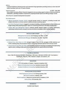 Big 4 Resumes Big 4 Cv Template Accountant Resume Project Manager