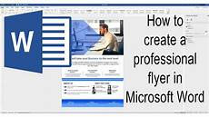 In Words How To Create A Poster In Word 166 Make A Poster In