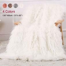 faux fur blanket soft fuzzy fluffy shaggy
