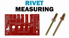 Blind Rivet Size Chart How To Use A Rivet Gauge And Measure A Rivet Fasteners