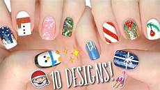 Nail Art Easy 10 Easy Nail Art Designs For Christmas The Ultimate Guide