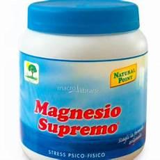 cloruro di magnesio e magnesio supremo 187 quale magnesio per dimagrire