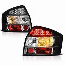 Audi A4 Prnds Lights 02 05 Audi A4 S4 4dr Sedan Euro Led Lights Black