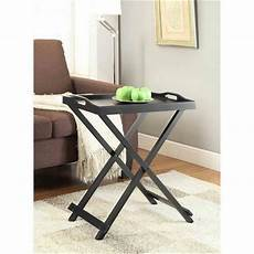 Folding Sofa Table 3d Image by Folding Tray Table Tv Wood Stand Snack Side End Dinner
