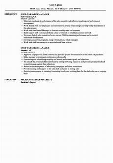 Auto Dealership Sales Manager Resume 20 Car Sales Manager Resume With Images Manager Resume