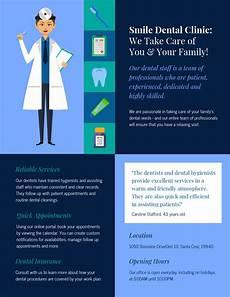 Information Pamphlet Template Dental Medical Pamphlet Template