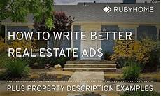 Real Estate Advertising Words How To Write Effective Real Estate Ads Description
