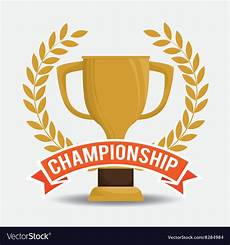 Champion Designs Champions Trophy Design Royalty Free Vector Image