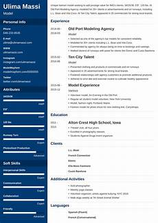 Models Of Resume Model Resume Sample Amp Guide 20 Modeling Examples