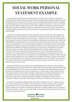 Care Worker Personal Statement Example From Graduate School Personal Statement Experts