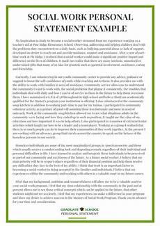 Personal Statement For Graduate School Examples Examples Of Good Personal Statements For Graduate School
