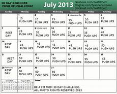 Push Up Chart For Beginners Be A Fit Beginner Push Up 30 Day Challenge Healthy