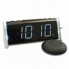 maxiaids reizen alarm clock with bed shaker up on