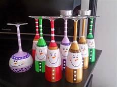 Christmas Wine Glass Tea Light Holders Kemishdo Wine Glass Snowman Tea Light Holders