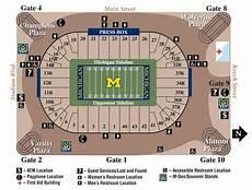 Arbor Michigan Stadium Seating Chart Michigan Wolverines 2012 Football Schedule