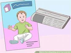 Local Babysitting Jobs How To Find A Babysitting Job In Your Local Area 4 Steps